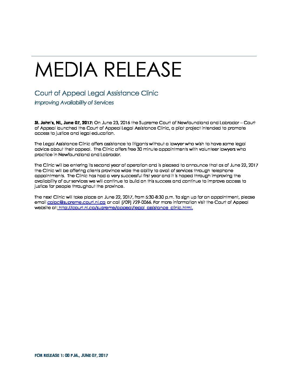 media release legal assistance clinic june 07 2017 pdf jpg